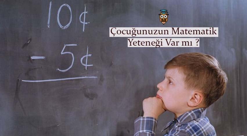 Çocuğunuzun Matematik Yeteneği Var mı ?