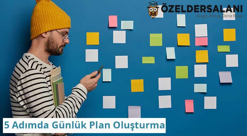 5 Adımda Günlük Plan Oluşturma