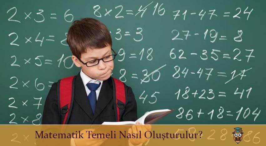 Matematik Temeli Nasıl Oluşturulur?