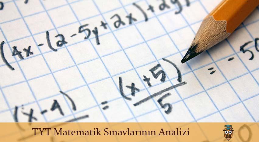 TYT Matematik Sınavlarının Analizi