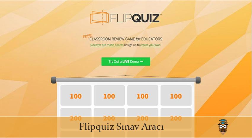Flipquiz Sınav Aracı Nedir, Nasıl Kullanılır?