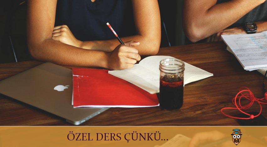 ÖZEL DERS ÇÜNKÜ...