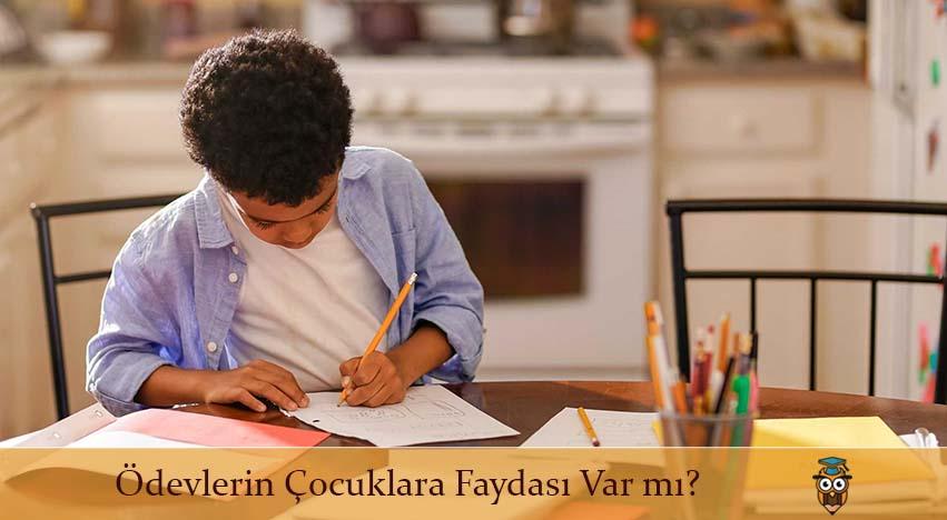 Ödevlerin Çocuklara Faydası Var mı?
