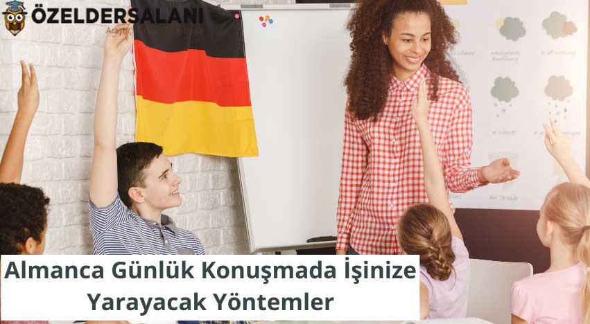 Almanca Günlük Konuşmada İşinize Yarayacak Yöntemler