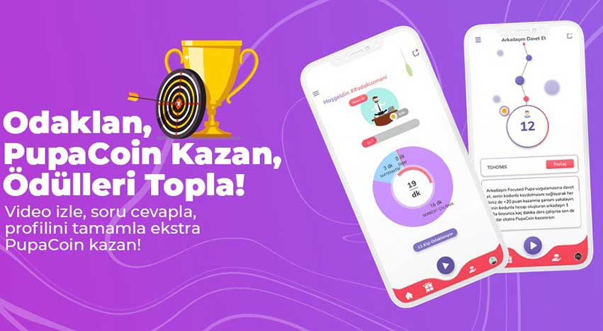 Focused Pupa: Odaklan, PupaCoin Kazan, Ödülleri Topla!
