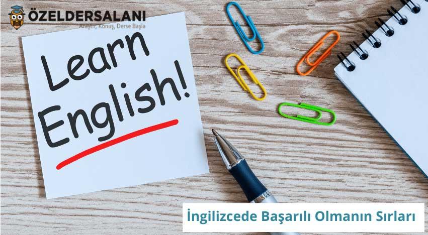 İngilizcede Başarılı Olmanın Sırları