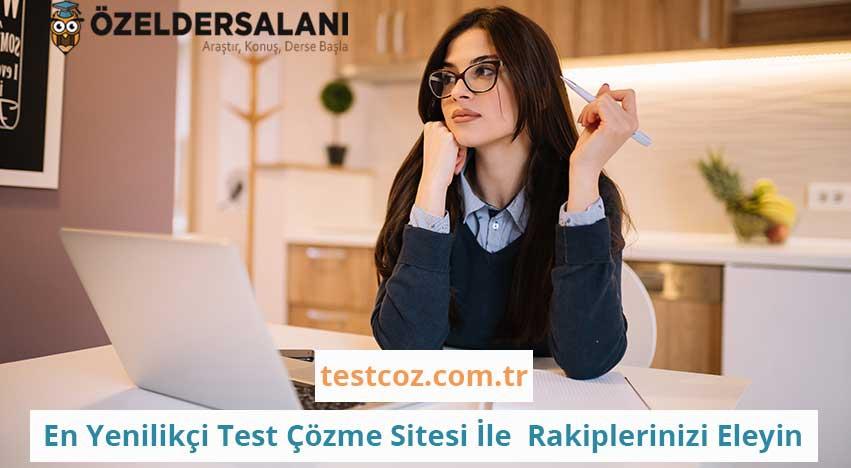Türkiye'nin En Yenilikçi Test Çözme Sitesi İle Rakiplerinizi Eleyin